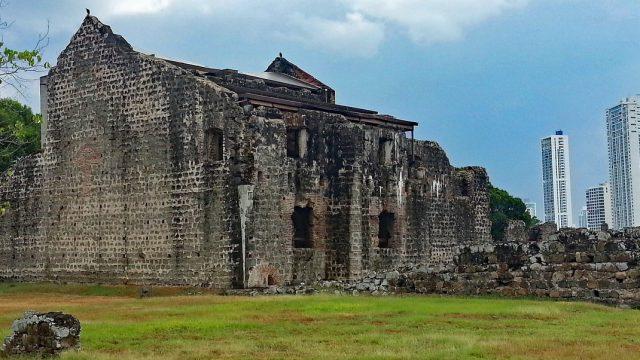 Ruinas del Panamá Viejo, lo que fueron los primeros asentamientos de la conquista española